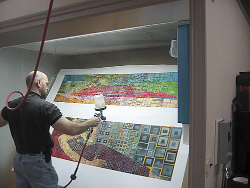 Clearcoating Inkjet Photo and Art Prints