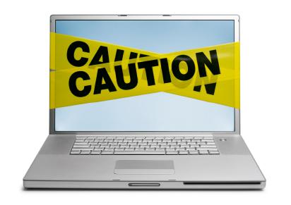 CautionSignComputer