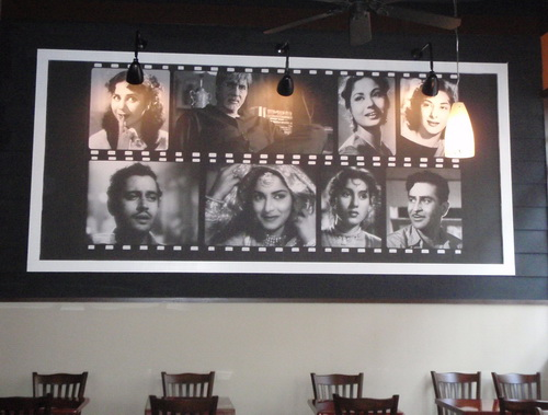 The 13 x 5 ft. photo mural that Somers Custom Framing printed on Photo Tex PSA fabric from LexJet helped restaurant consultant Bonnie Saran set the design stage for the Bollywood Bistro in Fairfax, VA.