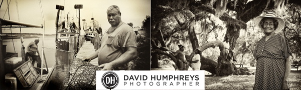 Humphreys uses different signature photos in his e-mails, depending on whether he is corresponding with clients for his editorial, fine-art, or decor photography.