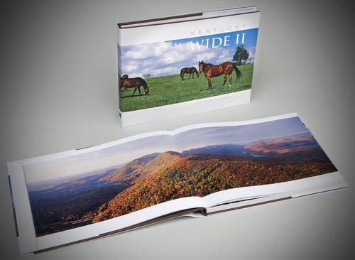 jeffrogerskywidebookopen500p Photo Book Presents Uncommon View of the Commonwealth of Kentucky