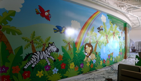 LJBProDigFullWall A Simple Way to Produce Durable, Kid Friendly Wall Murals