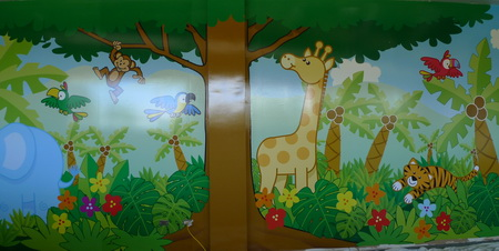LJBlogProDigitalFullMural A Simple Way to Produce Durable, Kid Friendly Wall Murals
