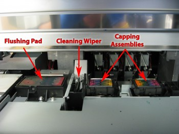 Printer Capper Wiper Maintenance