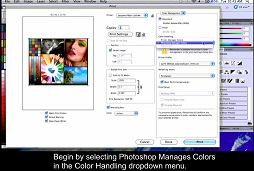 Print through Photoshop Epson driver