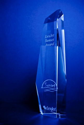 LexJet Sunset Award for Best Quality in Print and Presentation