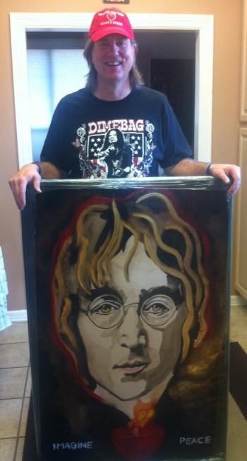 Rock n' roll art John Lennon