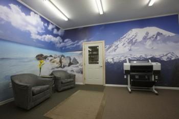 Wall murals inkjet printing