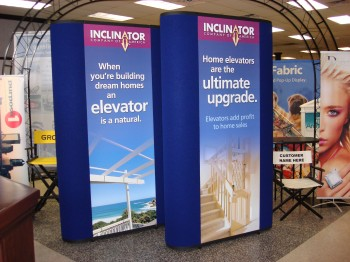 Trade show graphics inkjet media