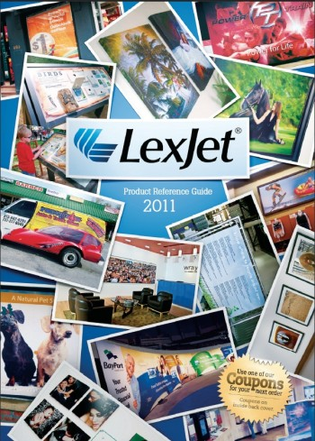 Find hundreds of wide format inkjet products in the LexJet Product Reference Guide