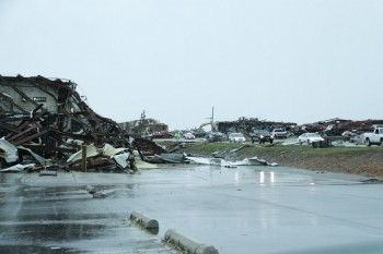 Tornado damage in Joplin, Mo.