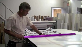 How to laminate graphics with PSA laminates