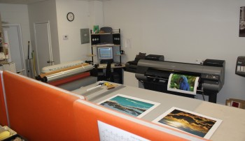 Adding fine art reproduction to inkjet printing operation