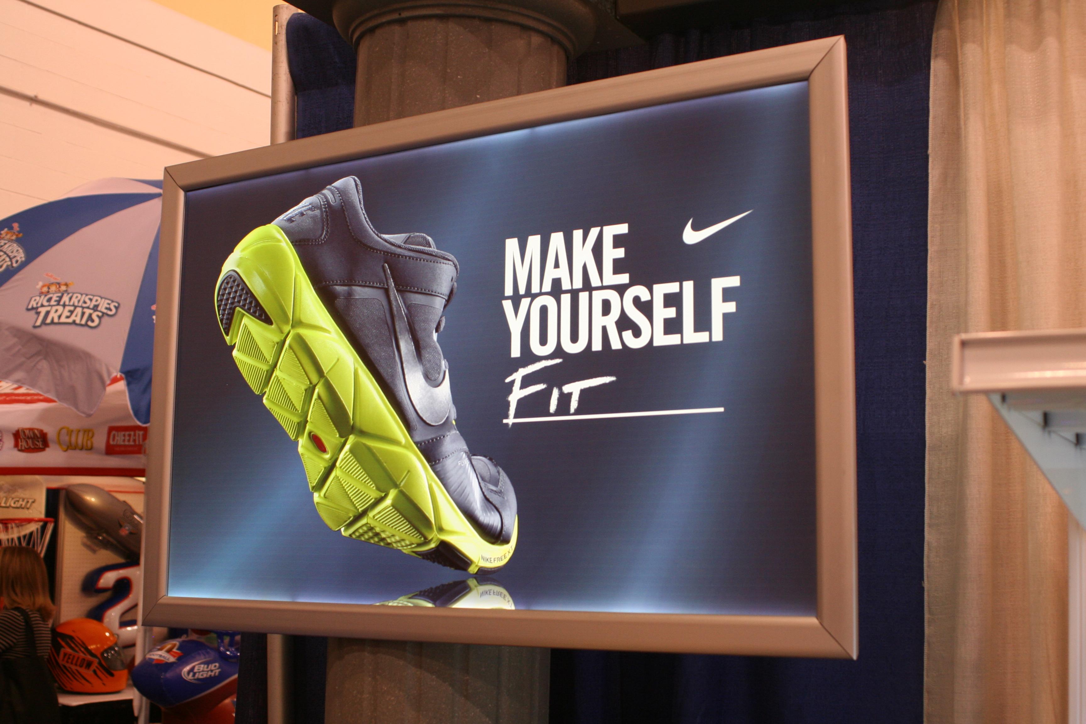 P O P Display And Print Ideas At The Shopper Expo Led