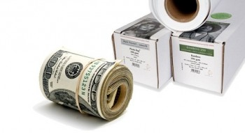 Get cash back on rolls on inkjet paper for photography and fine art