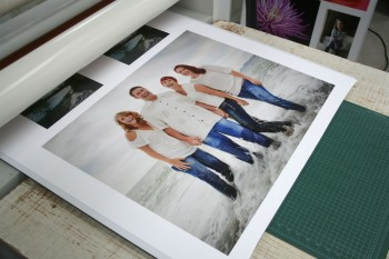 Mounting inkjet prints on art boards