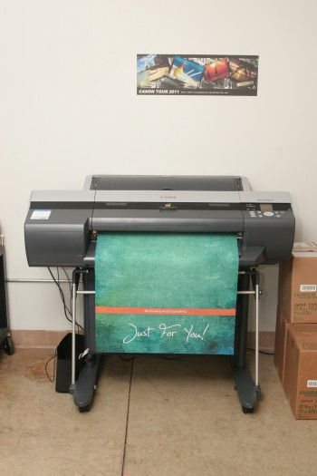Printing photo products with a Canon printer