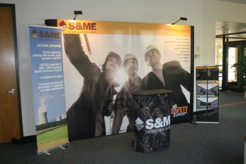 Graphics for trade shows and exhibits