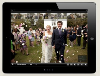 Mobile app for the iPad for photography