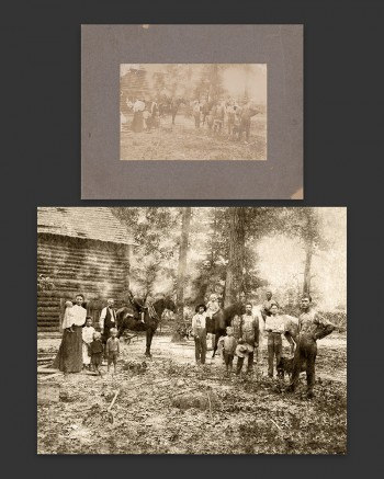 Restoring old photography into prints