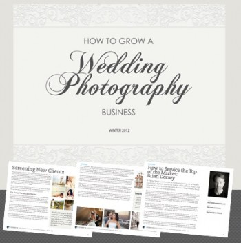 Guide to growing a wedding photography business