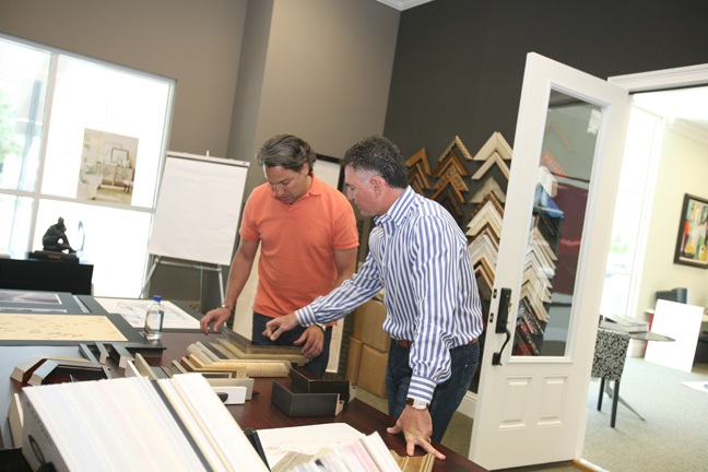 designing decorative artwork for residential and commercial soicher marin designer thom filicia