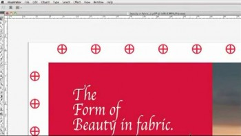 Adding grommet marks to banners with design software