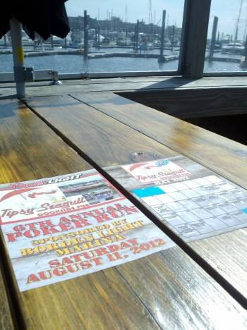 Printing tabletop graphics for bars and restaurants