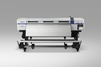 Epson production solvent inkjet printer