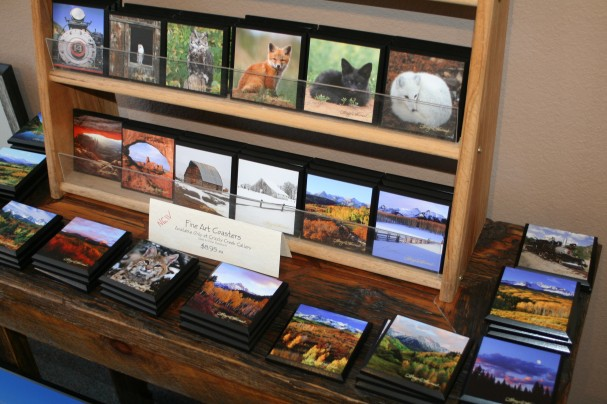 Printing fine art photo coasters