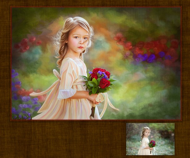 Painting photographs with Corel and Photoshop