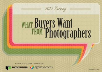 Free guide to what buyers want from photographers