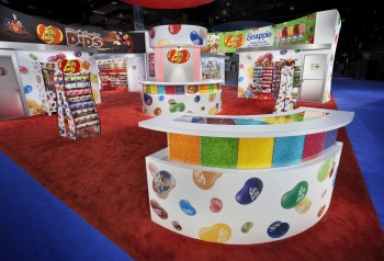 Trade show exhibit design, manufacturing and printing