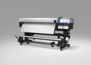 Low solvent printers for signs, vehicles and banners