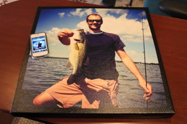 Printing Instagram photos from Facebook on canvas