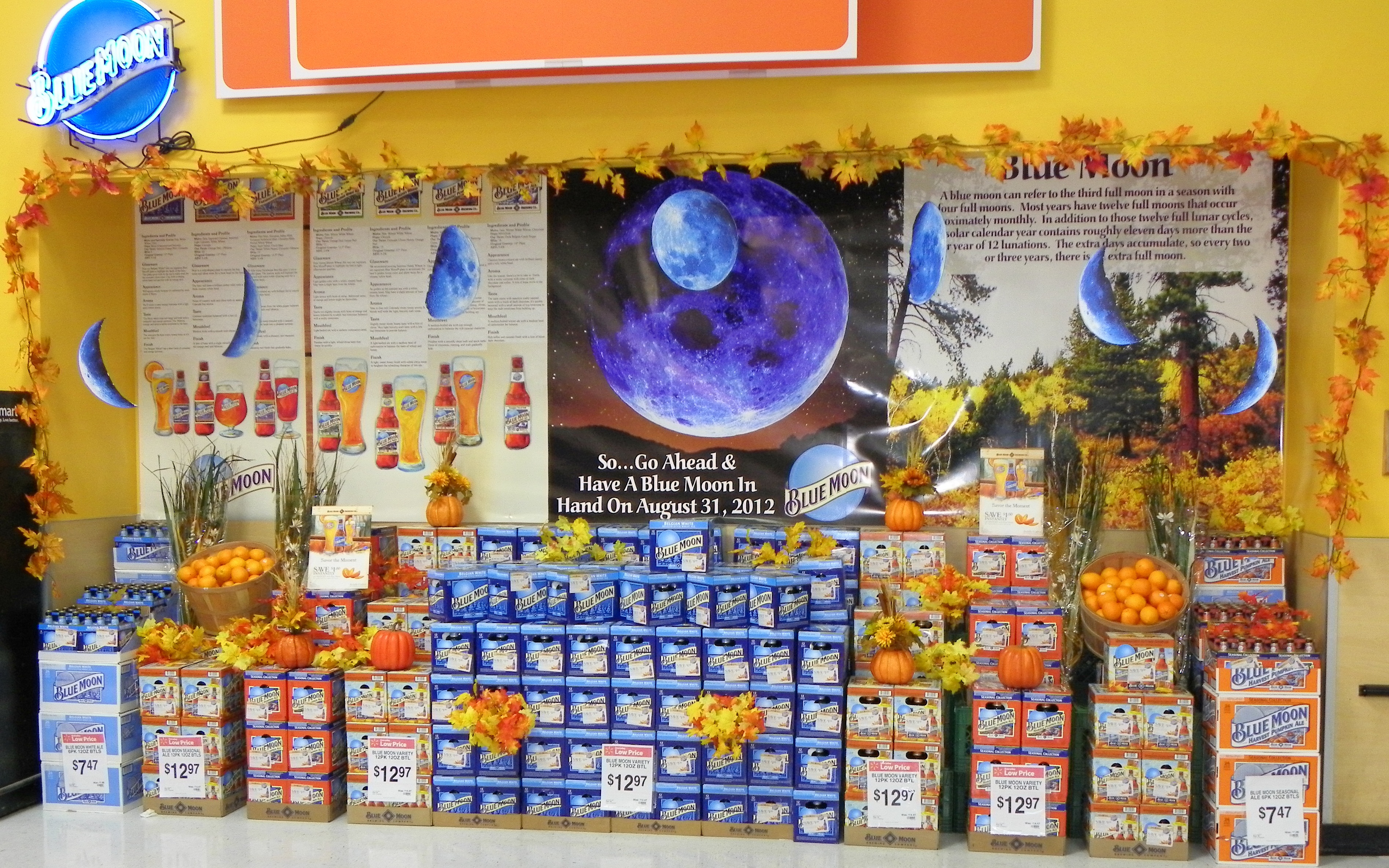 millercoors lexjet blog a once in a blue moon point of display