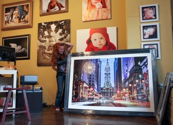 Printing fine photo art