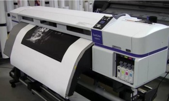 Video preview of Epson's new low solvent printer