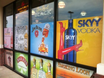 Branding and advertising with window graphics