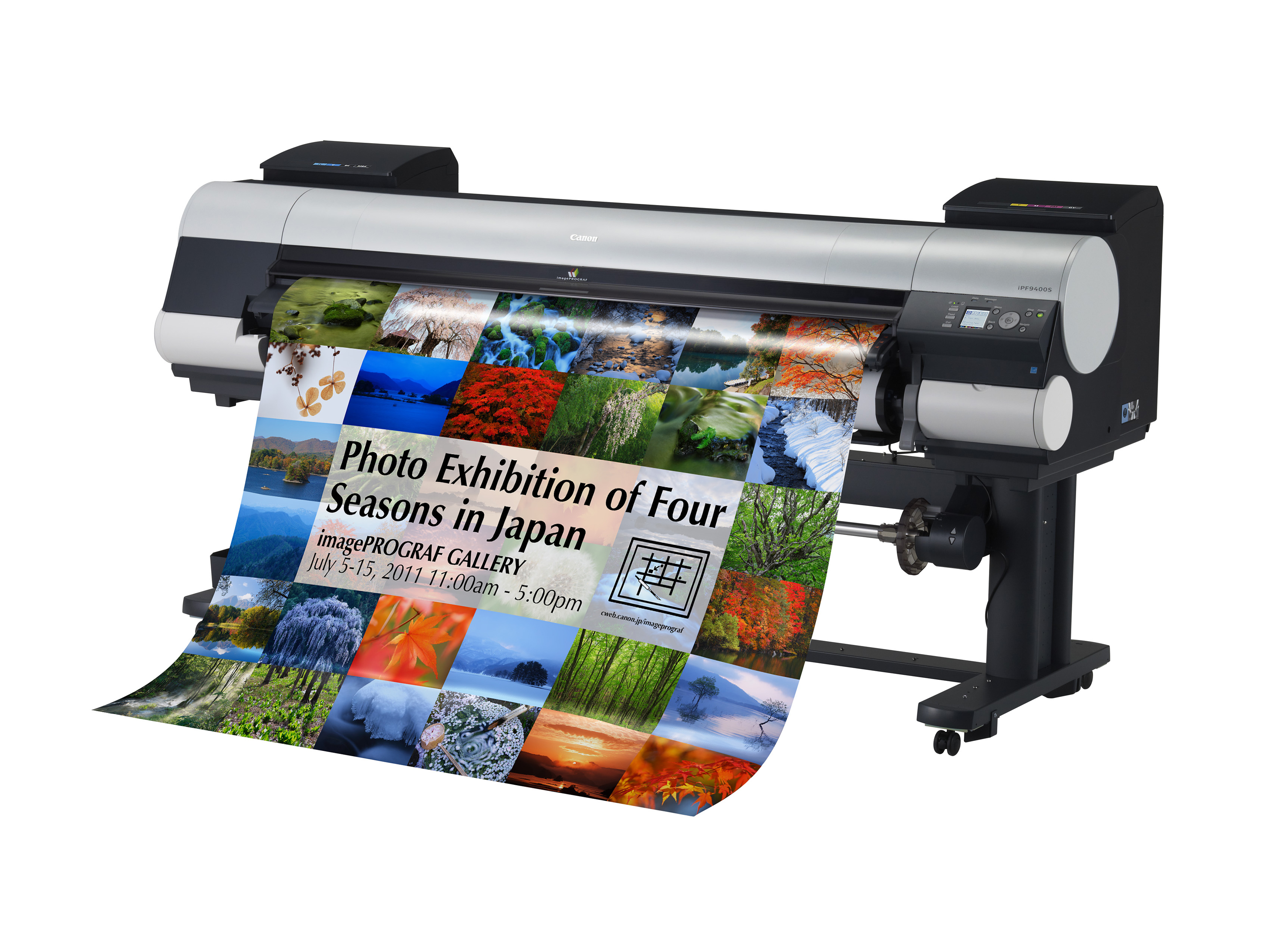 New Wide Format Inkjet Printers From Canon