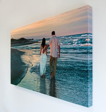 Printing canvas gallery wraps