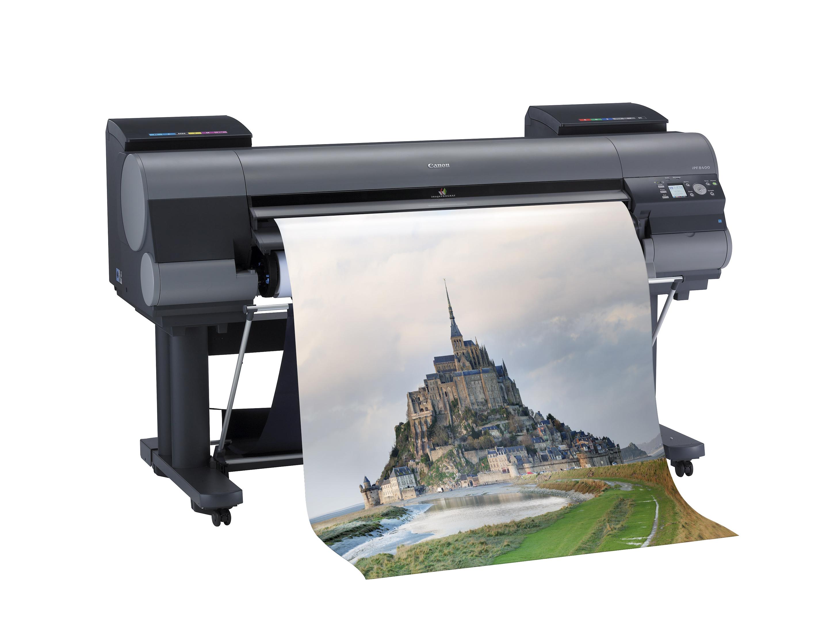 New Large Format Inkjet Printers Canon