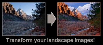 Landscape photography editing with Photoshop