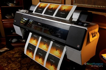Printing a coffee table book