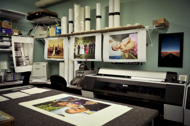 Printing photos on canvas
