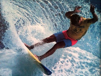 Pro surfing and inkjet printing