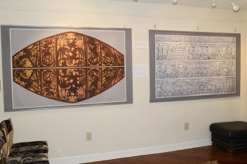 Inkjet printed art tapestries