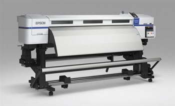 Low solvent inkjet printer