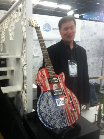 Printing guitars with 3D inkjet technology
