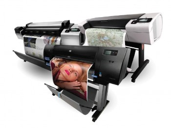 HP promotion on wide format inkjet printers